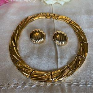 Vintage 1980's jewelry set